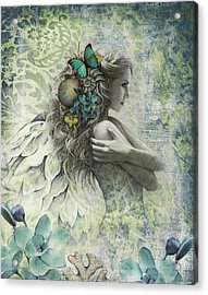 Ocean Garden Acrylic Print by Jessica Galbreth