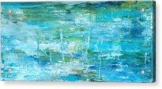 Ocean I Acrylic Print by Tia Marie McDermid