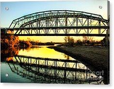 Ocean-to- Ocean Bridge Acrylic Print by Robert Bales