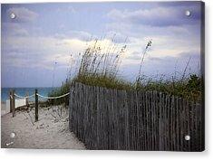 Ocean View 2 - Miami Beach - Florida Acrylic Print by Madeline Ellis