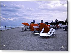 Ocean View 6 - Miami Beach - Florida Acrylic Print by Madeline Ellis