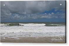 Ocean Wave Acrylic Print by Arlene Carmel