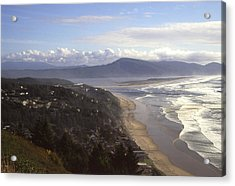 Oceanside Oregon Acrylic Print by Keith Gondron