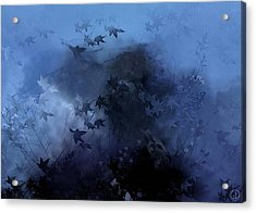 October Blues Acrylic Print by Gun Legler