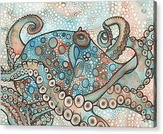 Octopus Acrylic Print by Tamara Phillips