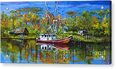 Off Season Acrylic Print by Dianne Parks