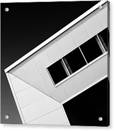 Office Corner Acrylic Print by Dave Bowman