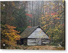 Ogle Place - D008241 Acrylic Print by Daniel Dempster