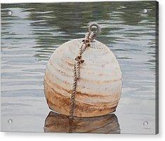Oh Buoy Acrylic Print by Christopher Reid