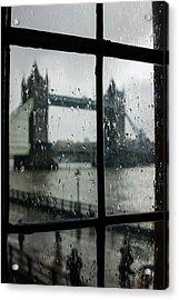 Oh So London Acrylic Print by Georgia Mizuleva