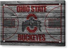 Ohio State Buckeyes Acrylic Print by Joe Hamilton
