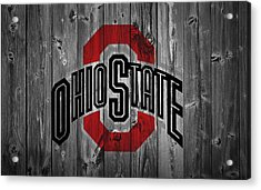 Ohio State University Acrylic Print by Dan Sproul