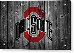 Ohio State University Acrylic Print by Dan Sproul