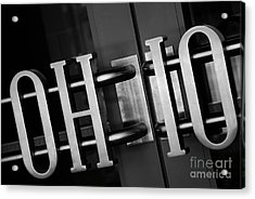 Ohio Union  Acrylic Print by Rachel Barrett