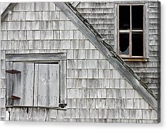 Old Abandoned Building Acrylic Print by Keith Webber Jr