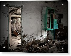 Old Abandoned Kitchen Acrylic Print by RicardMN Photography