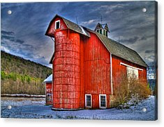 Old And Rugged Acrylic Print by David Simons