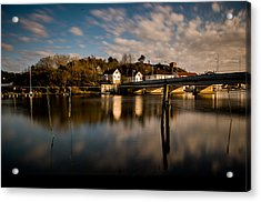 Old Brigde Acrylic Print by Mirra Photography