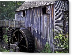 Old Cades Cove Mill Acrylic Print by Paul W Faust -  Impressions of Light