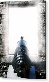 Old Cannon Acrylic Print by Joana Kruse