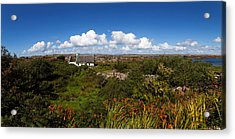 Old Cottage On Gorumna Island Acrylic Print by Panoramic Images