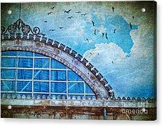 Old Deposit Detail Acrylic Print by Silvia Ganora