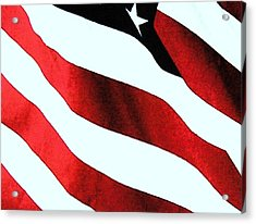 Old Glory Acrylic Print by Dan Twyman