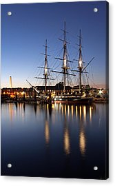 Old Ironsides Acrylic Print by Juergen Roth