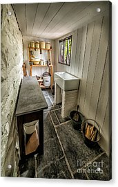 Old Kitchen Acrylic Print by Adrian Evans