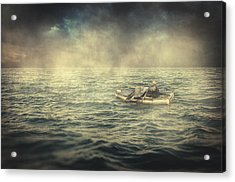 Old Man And The Sea Acrylic Print by Taylan Soyturk