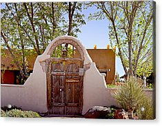 Old Mesilla - Las Cruces Nm Acrylic Print by Christine Till