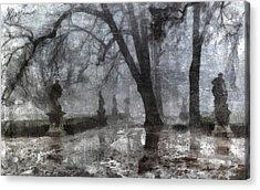 Old Park Acrylic Print by Marina Likholat