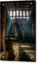 Old Power Station  Acrylic Print by Nathan Wright