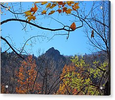 Old Rag Hiking Trail - 121213 Acrylic Print by DC Photographer