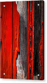 Old Red Barn Four Acrylic Print by Bob Orsillo
