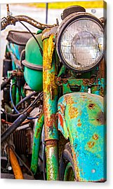 Old Russian Glory Acrylic Print by Cliff C Morris Jr