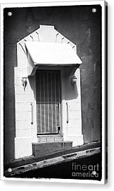 Old San Juan Door Acrylic Print by John Rizzuto