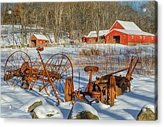 Old School Acrylic Print by Bill Wakeley