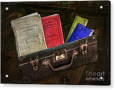 Old School Days Acrylic Print by Kaye Menner