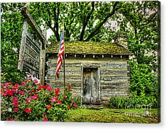 Old School House Acrylic Print by Darren Fisher