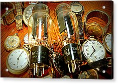 Old School Tube And Time Acrylic Print by Danny Jones