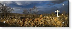 Old Shepherd's Hut Acrylic Print by Guido Montanes Castillo