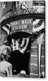 Old Shibe Park - Connie Mack Stadium Acrylic Print by Bill Cannon