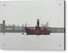 Old Ship Acrylic Print by Svetlana Sewell