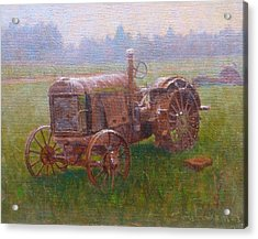 Old Timer Canterbury Acrylic Print by Terry Perham