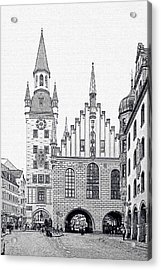 Old Town Hall - Munich - Germany Acrylic Print by Christine Till