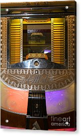 Old Vintage Ami Jukebox Dsc2776 Acrylic Print by Wingsdomain Art and Photography