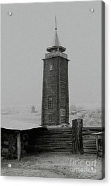 Old Watchtower Acrylic Print by Evgeniy Lankin