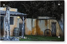 Old West Ghost Town Acrylic Print by Kelly Rader
