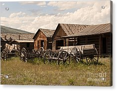 Old West Wyoming  Acrylic Print by Juli Scalzi